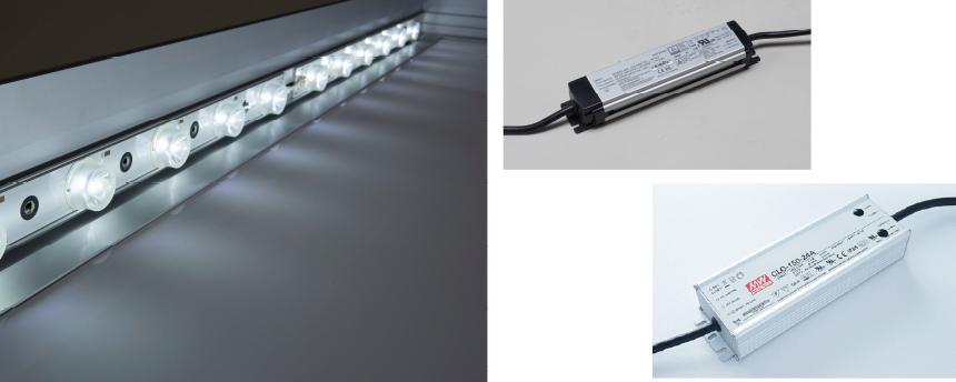 サインアーテックファブリックフレーム® LED 電源