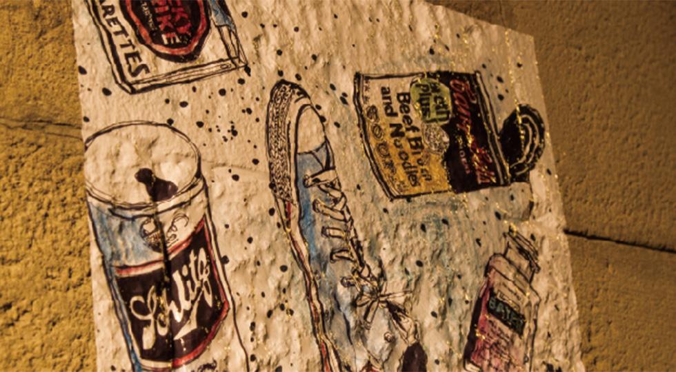壁面印刷 マルチストリートタック 使用イメージ