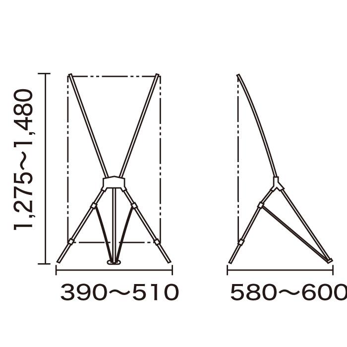 バナースタンド QSB-1214